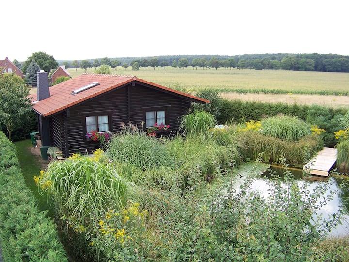 Ferienhaus (Blockhaus) in der Dübener Heide