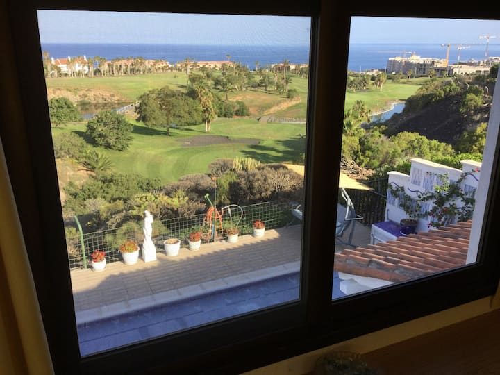Golf Del Sur, Room with a view.