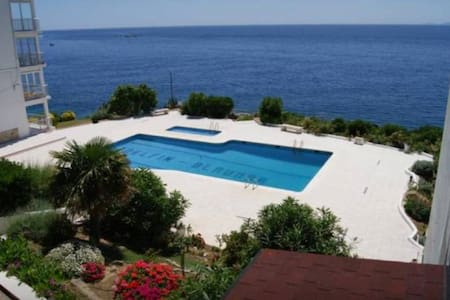 Superb studio 2 p  front of the sea with swim pool - Roses - Διαμέρισμα