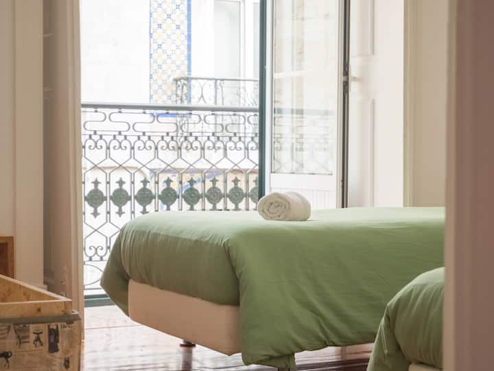 No Limit Alfama Guesthouse - Twin Room