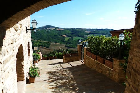 The relax you need in stunning Umbrian countryside - Saragano - 公寓