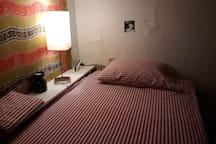 Tall Twin loft bed.