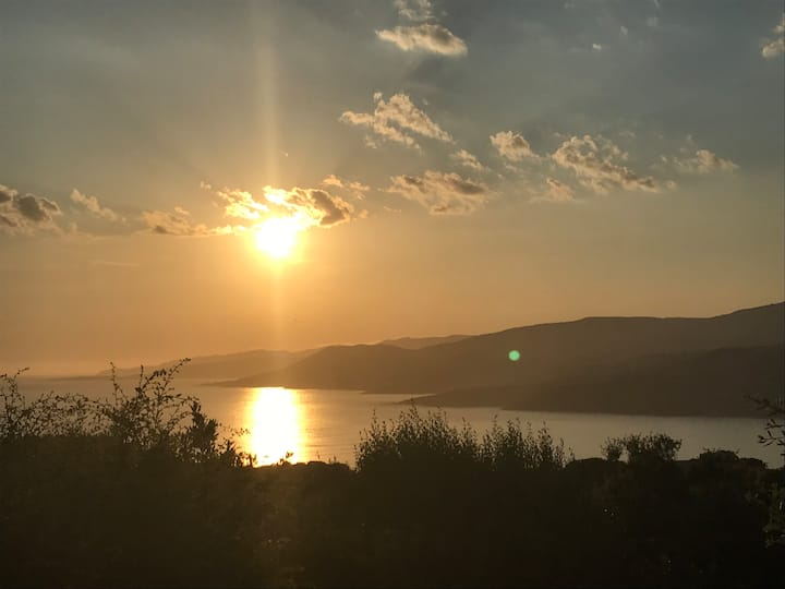 Maisonnette Propriano vue mer golf du Valinco