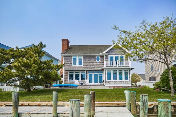 Remarkable Bayviews From This 4 Bedroom Ocean City Home!