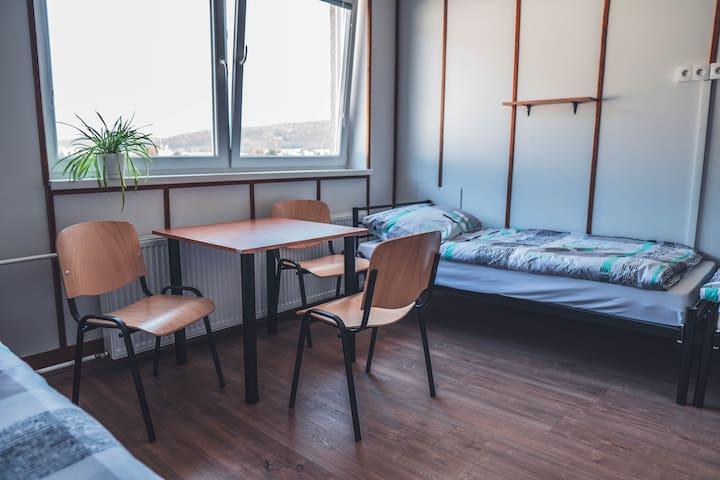 Cozy rooms close to centre of Veľký Šariš