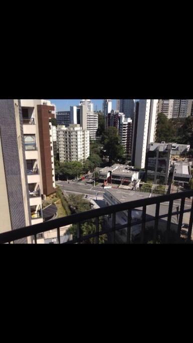 Vista da varanda 10o andar