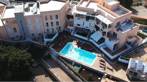 To-roms leilighet utleie i La Maddalena (Sardinia)