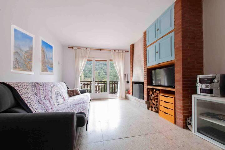 Apartamento relax al pie de Montseny