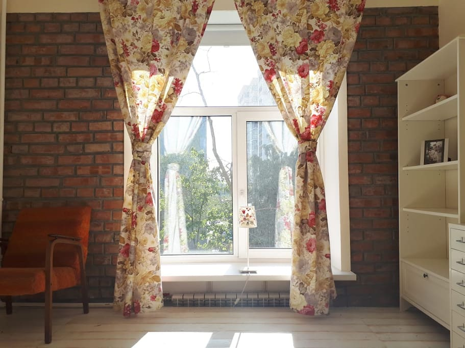 Living room, outside view