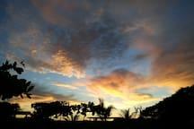 Sunset over Canoa