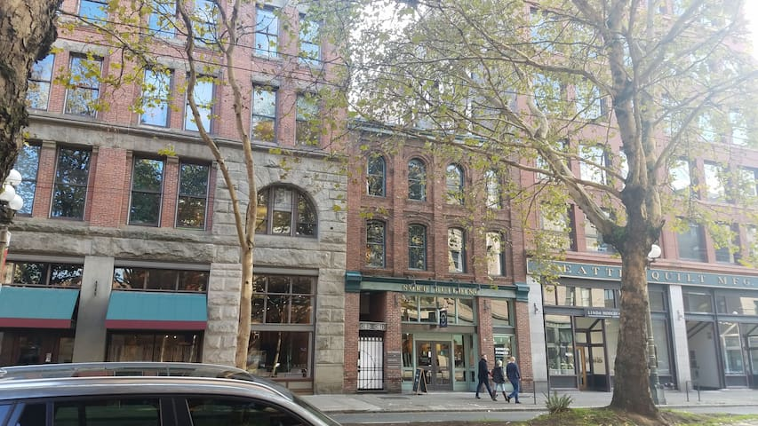 One-of-a-kind historic Pioneer Square hideaway