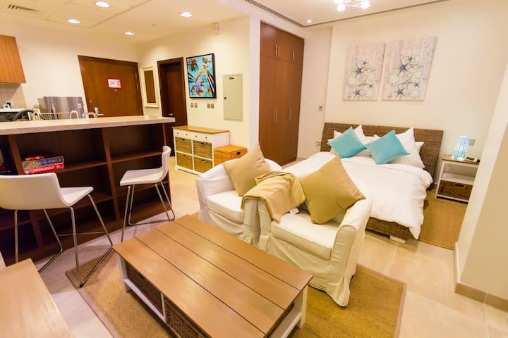 Studio Apartment in Bahar 6 JBR; Next to Beach - Dubai