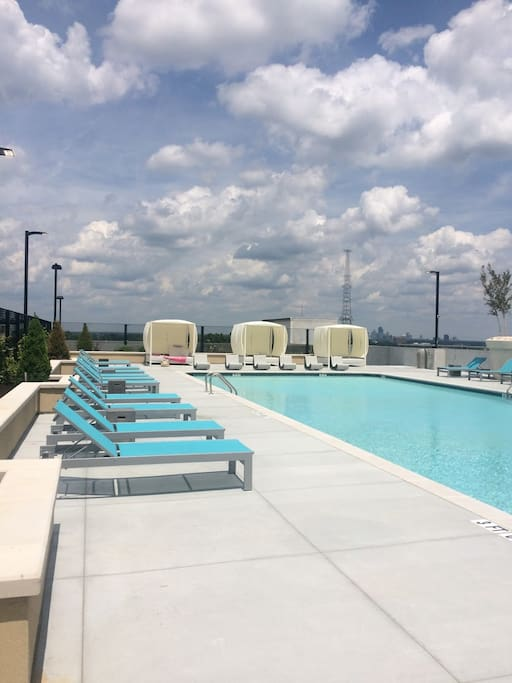 Access to the incredible rooftop pool.