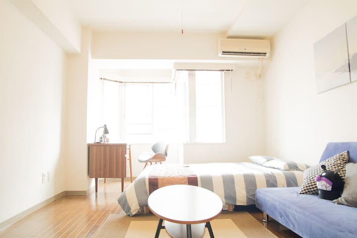 24㎡/3ppl/Shibuya Shinagawa10min/Pocket free Wifi - Shinagawa-ku - Appartement
