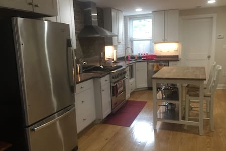 2 bed 2 bath, private yard and very close to Path - Hoboken