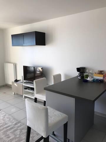 3 rooms apartment in Divonne-les-Bains centre