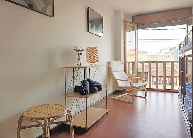 Boaola Surf House - Moana Bunk Bedroom 4 p. (Razo)