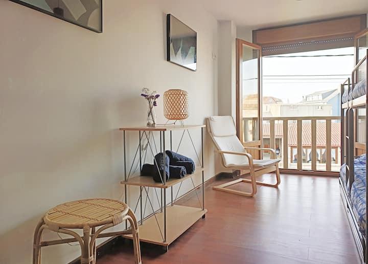 Boaola Surf House - Moana literas 4pers (Razo)