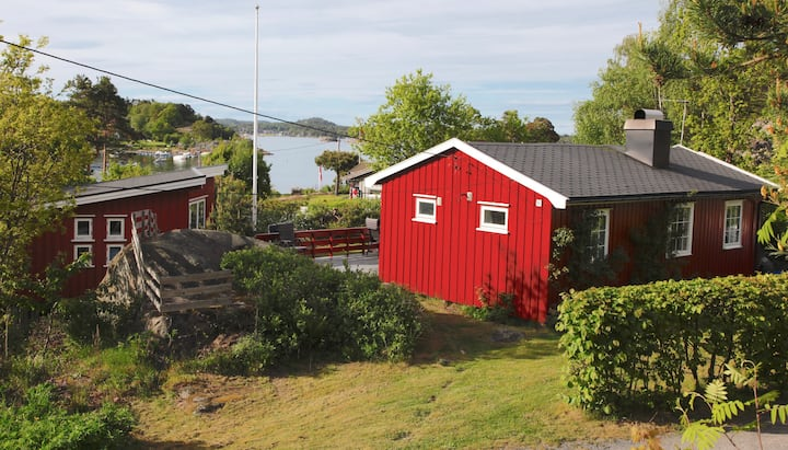 Family cabin by the Tønsberg fjord
