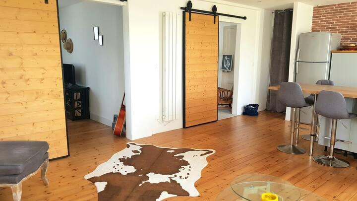 Appartement bord de mer - style loft