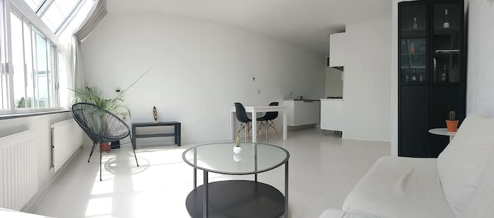 Sunny private apartment in trendy/lively De Pijp
