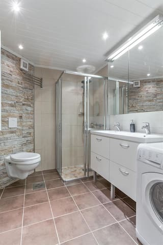 Bathroom, refurbished in 2015