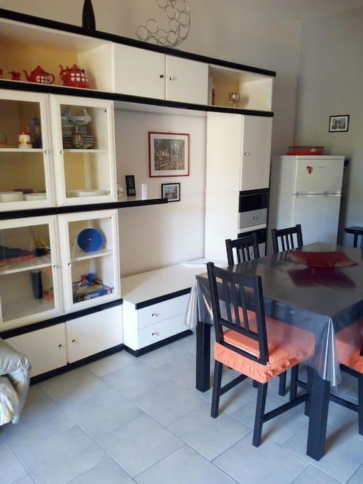Essbereich in Küche