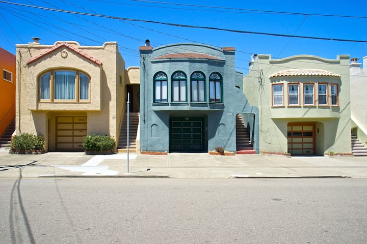 Eclectic bright in bernal hts maisons louer san - Limpressionnante residence bernal heights san francisco ...