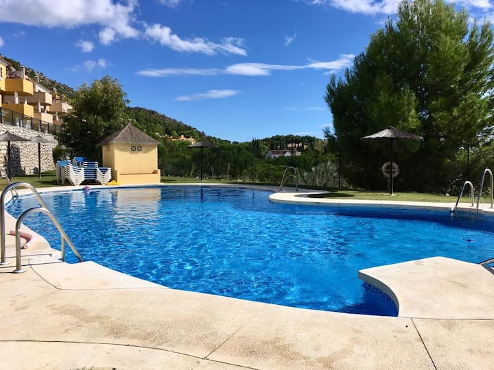 No 16 Mijas 3 bed villa stunning views near beach