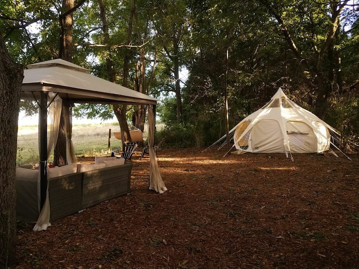 Glamping at Camp Kelly