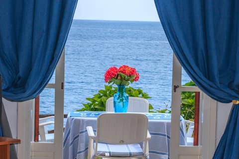 Agios Ioannis, luxusní studio u pláže soukromé parkoviště