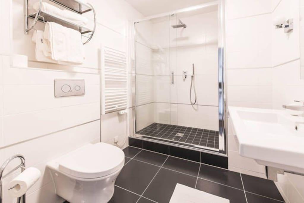 bathroom (italian shower)