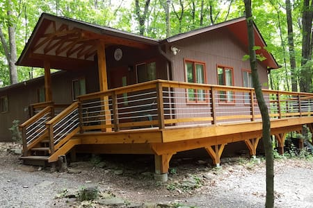 Troll Valley,Scandinavian style cabin,in the woods - Berkeley Springs