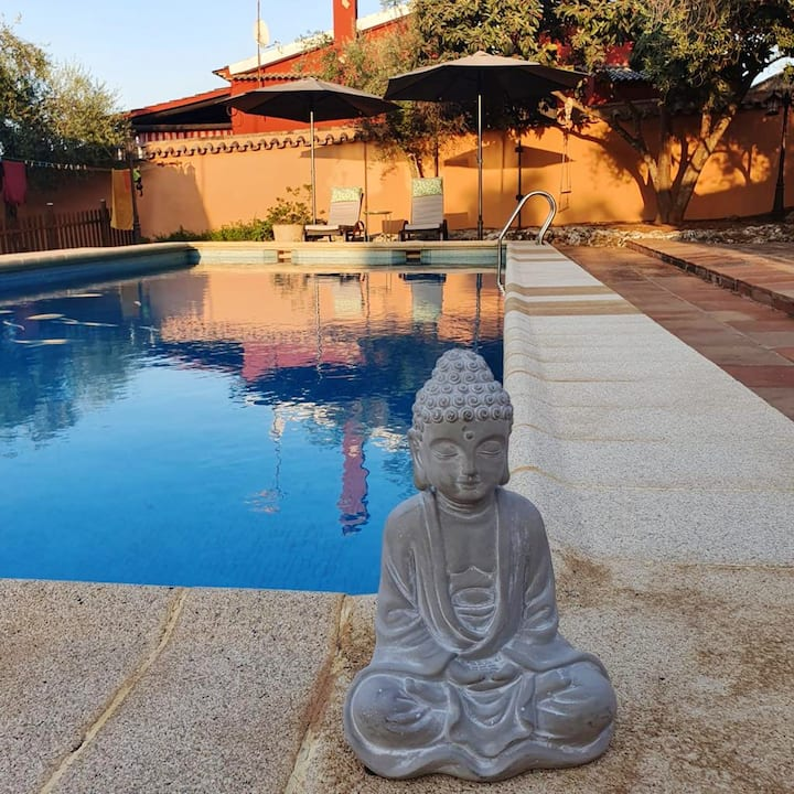 Villa with 3 bedrooms in Hornachuelos, with private pool and WiFi
