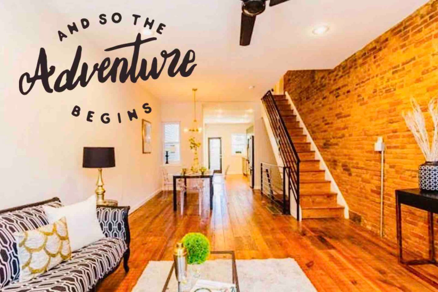 Artsy Row House♥FREE Parking♥10 Min to Downtown