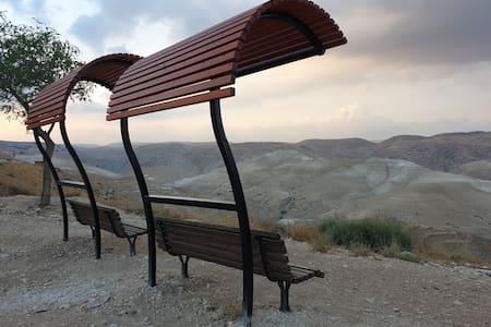 Sofer's  Desert Paradise דירת אירוח מעל ואדי קלט
