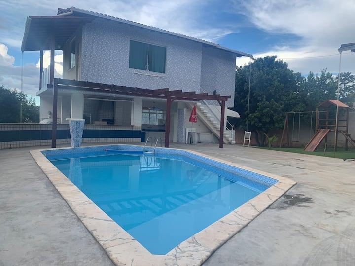 Sauna e piscina aquecida.Sitio no melhor de Lagoa!