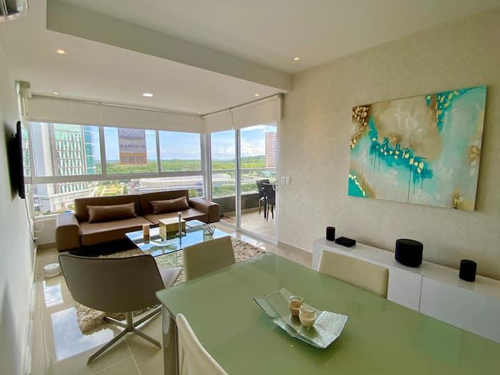 Apartamento SOHO Style-Cerca al Buenavista BAQ31A