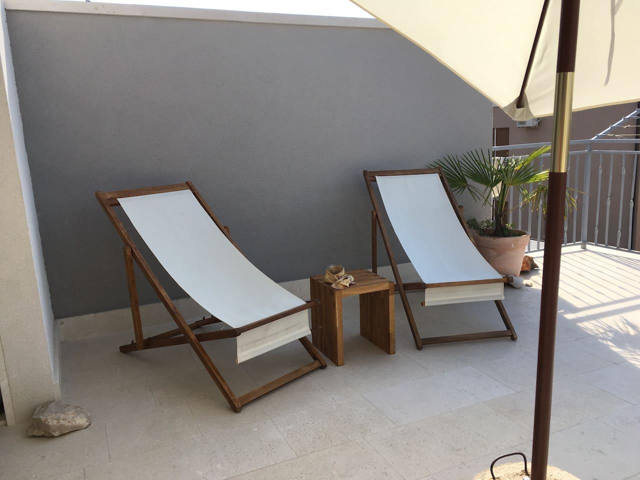 sommerchill unter sternen - apartments for rent in kaštel stari, Badezimmer ideen