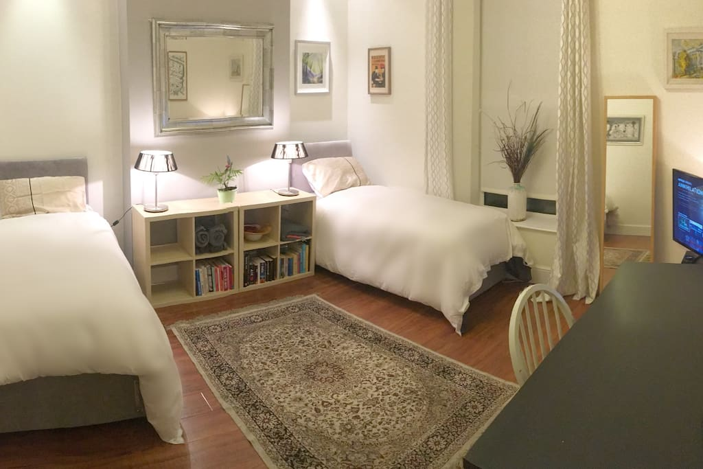 Twin Room Dublin City Centre To Rent