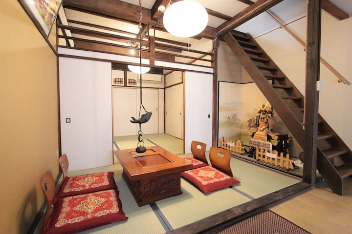 Traditional House★JRsta3mins★2Floor★MAX6ppl★Namba