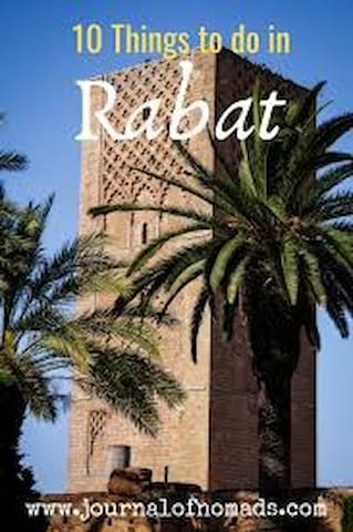 My proposals to visit Rabat (historical sites, museums, bars, resaurants, ...)