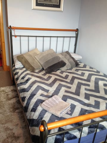Cosy double room in friendly home.