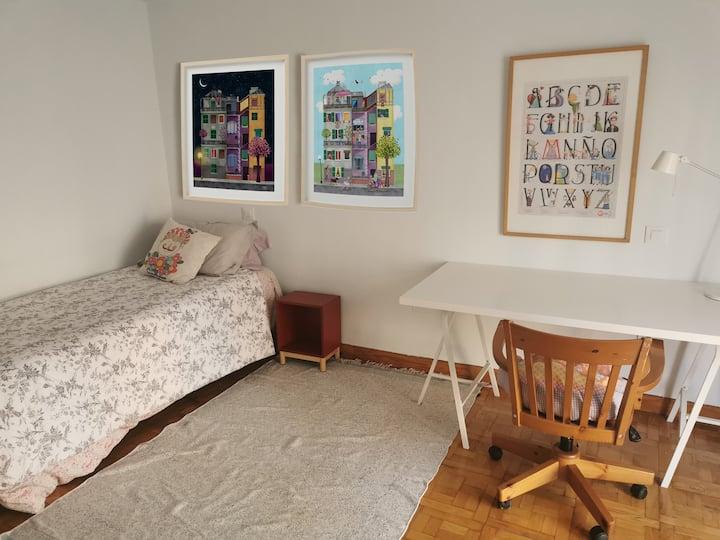 Preciosa habitación en el centro de Segovia