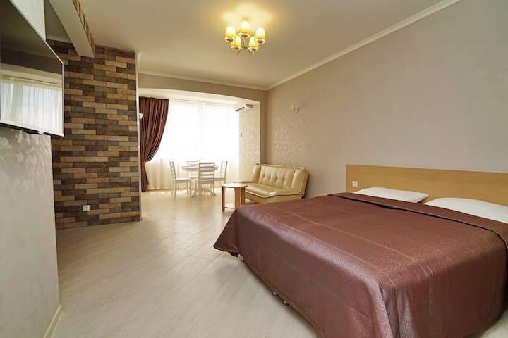 Апартаменты-первый этаж - Olginka - Apartament