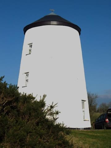 Anglesey renovated windmill
