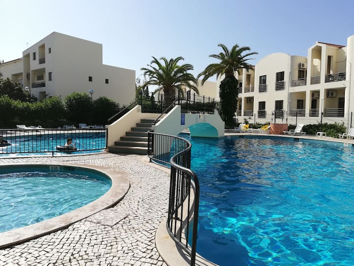 Alvor apartment with wi-fi, airco and pool