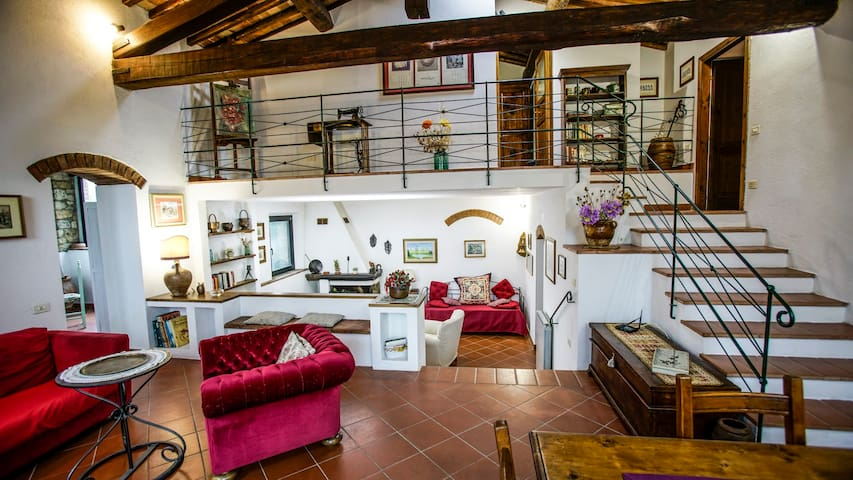 Il Poggio-San Gimignano: Villa,Park,Private Pool