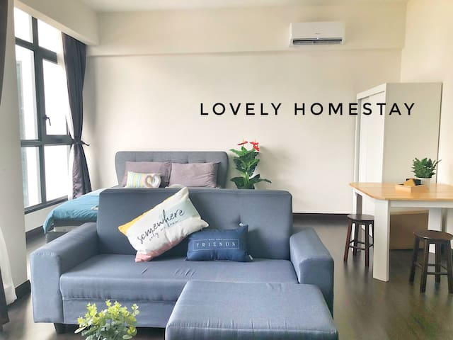 D37# Lovely Home20++ Facilities & KLCC view 享受生活