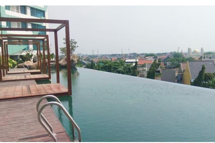 Sewa Apartemen New Studio Grand Kamala Lagoon